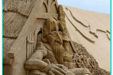Замки из песка